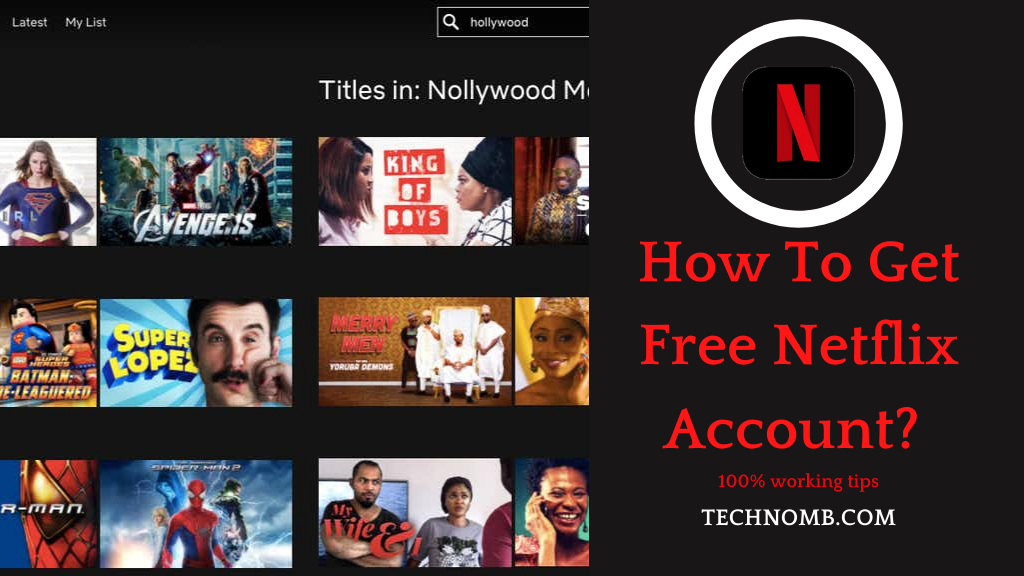 How To Get Free Netflix Account?